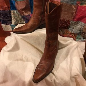 Boots, Brown, Cowboy style, 8 M